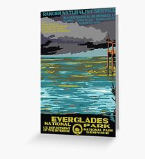 National Parks 2050: Everglades Greeting Card