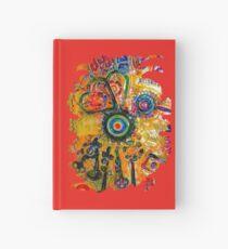 COLOURFUL STEAMPUNK HUMMINGBIRD Hardcover Journal