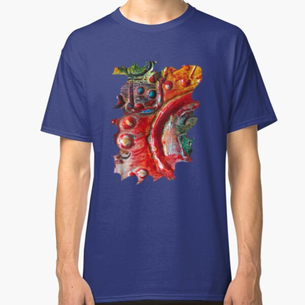 RED STEAMPUNK TEXTURES Classic T-Shirt