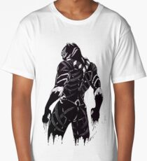 Black Panther super eroes Long T-Shirt