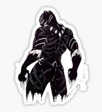 Black Panther super eroes Sticker