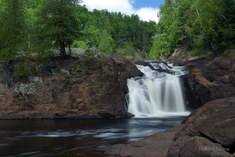 falls on the brule by Robert Stone