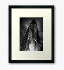 Reykjavik or Mordor Framed Print