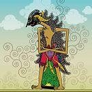 wayang Arjuna by Jatmika Jati