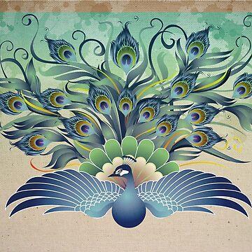 Peacock by msjeje