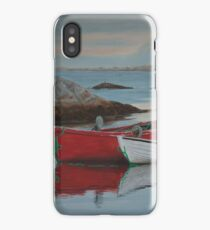 Boats at Peggys Cove  iPhone Case/Skin