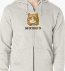 Morris Knows Best Zipped Hoodie