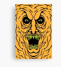 Demonic Cheeto Canvas Print