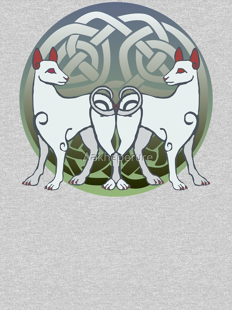 Cŵn Annwn | Hounds of Annwn by Aakheperure
