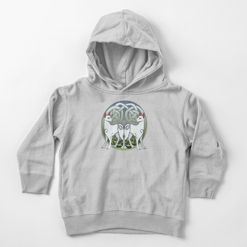 Cŵn Annwn | Hounds of Annwn Toddler Pullover Hoodie