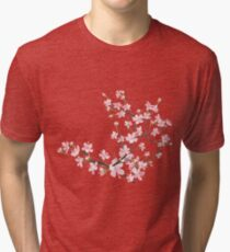 cherry blossom flowers Tri-blend T-Shirt