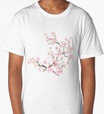 cherry blossom flowers Long T-Shirt