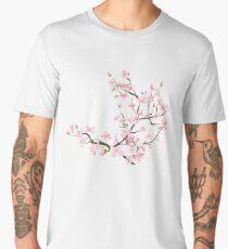 cherry blossom flowers Men's Premium T-Shirt