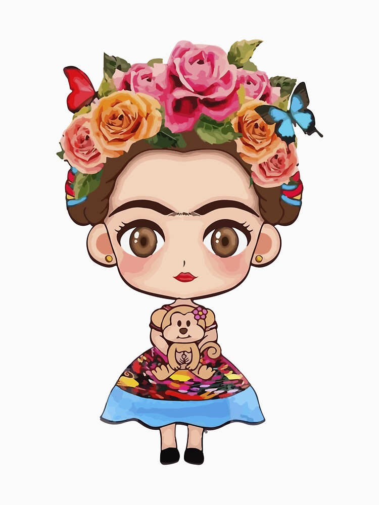 Frida Kahlo Funny T-Shirt by CascudoGifts