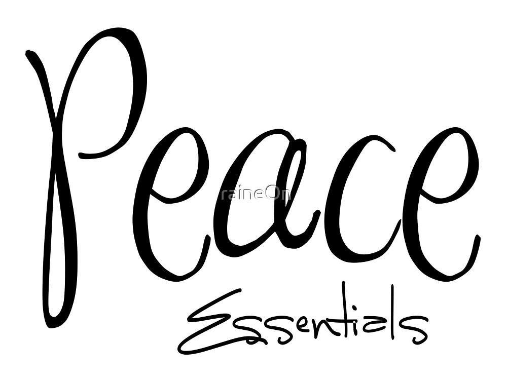 Peace Essentials by raineOn