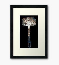 Mjölnir Framed Print