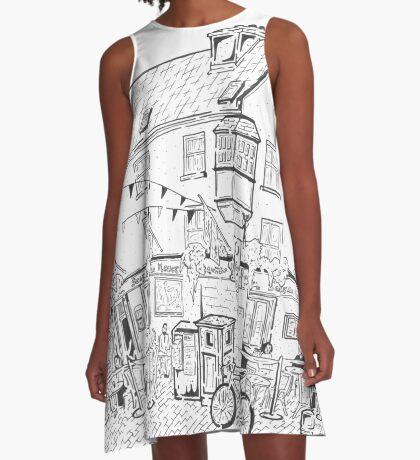 Tigh Neachtain Maze (Galway, Ireland) A-Line Dress