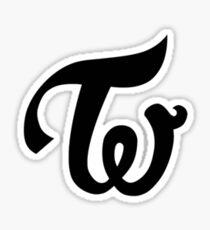 Twice kpop logo Sticker