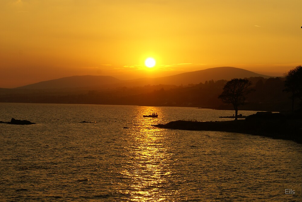 Magic of the setting sun by Eils
