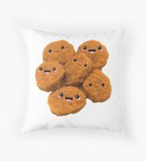 Happy Nug Family Throw Pillow