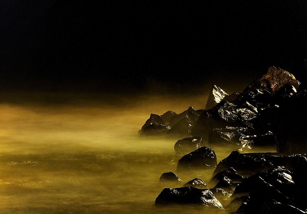 Beach mist by TobyWolfPhoto