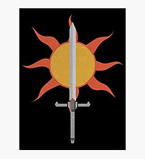 Sunlight Straight Sword Photographic Print