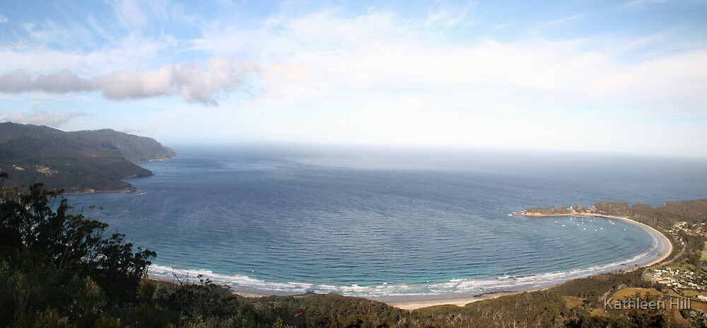 Panorama Eaglehawk Neck by Kathleen Hill