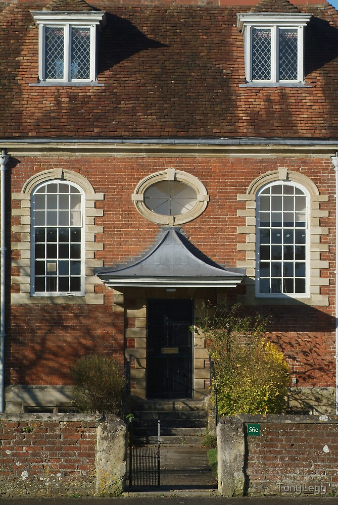House in the Salisbury Cathedral Close  by TonyLegg