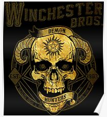 Winchester Bros Poster