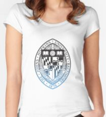 Johns Hopkins University Women's Fitted Scoop T-Shirt