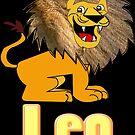 Leo Zodiac Sign  (4296 Views) by aldona