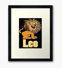 Leo Zodiac Sign  (4282 Views) Framed Print