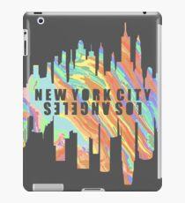 NY/LA Pastel Oil Slick iPad Case/Skin