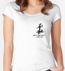 Parabatai Rune - Shadowhunters Women's Fitted Scoop T-Shirt