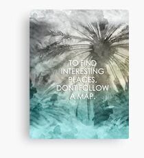 No Maps Required Canvas Print