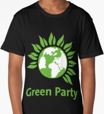 THE GREEN PARTY Long T-Shirt