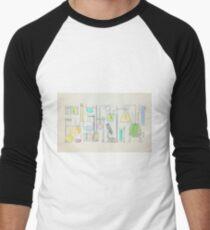Mad Scientist Men's Baseball ¾ T-Shirt