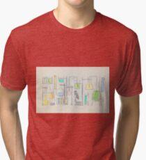 Mad Scientist Tri-blend T-Shirt