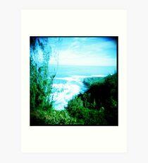 Na Pali Coastline Art Print