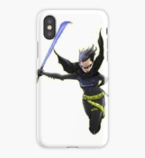 Nightwing Cassie  iPhone Case/Skin