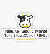 Wise Words from Matthew Daddario Sticker