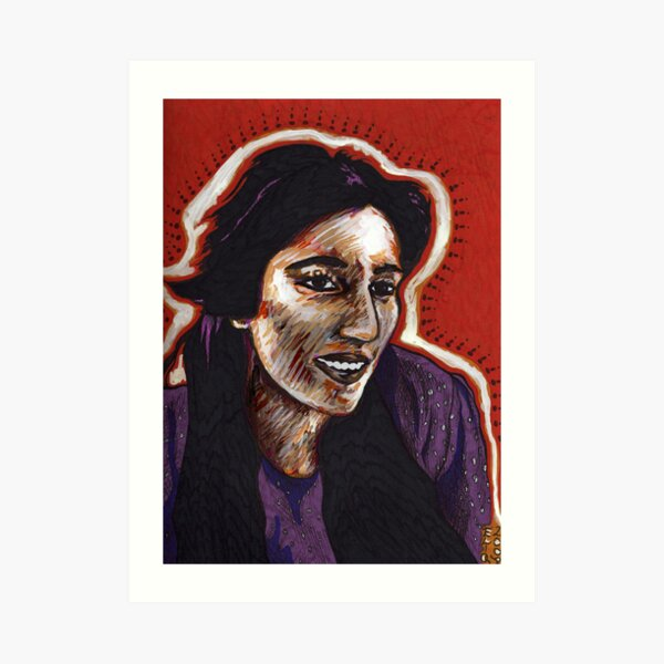 The Courage of Benazir Bhutto Art Print
