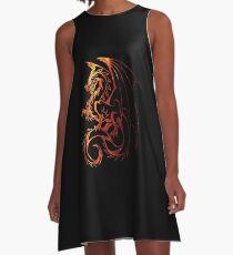 Dragon A-Line Dress