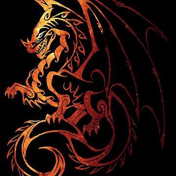 Dragon by Elyssiel