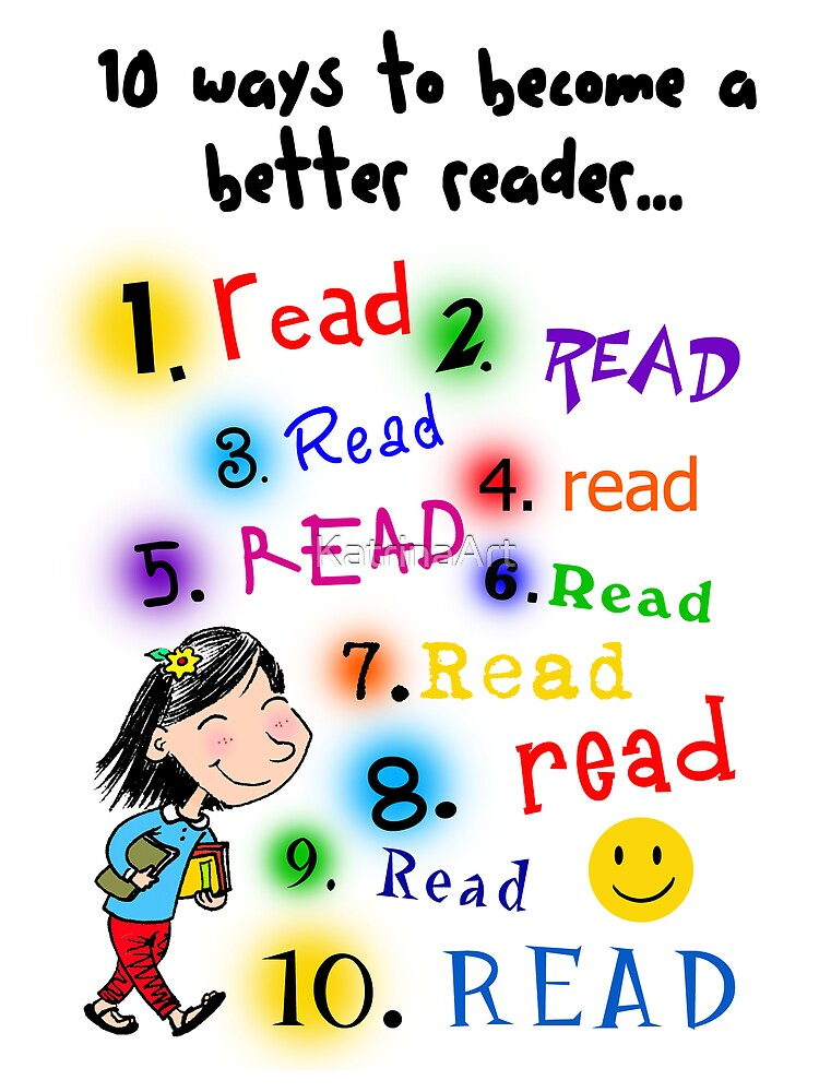 Better Reader by KatrinaArt
