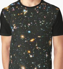 Hubble Extreme Deep Field Landscape Graphic T-Shirt