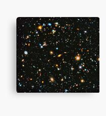 Hubble Extreme Deep Field Landscape Canvas Print