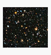 Hubble Extreme Deep Field Landscape Photographic Print