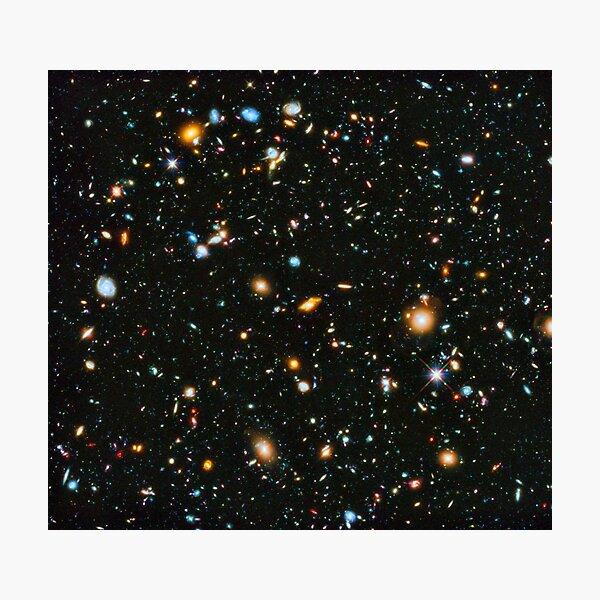 Hubble Extreme Deep Field Landscape Photographic Print