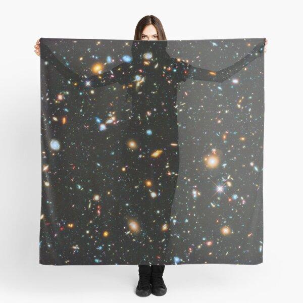 Hubble Extreme Deep Field Landscape Scarf